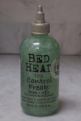 8.45 oz. Tigi Bed Head Control Freak 3 Serum. Frizz Control & Straightener. (Bed Head Control Freak Frizz Control Straightener)