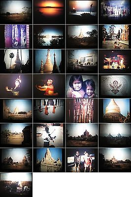 Dias Privat-45 Fotos aus Reise nach Rangun-Pagan aus den1980.Jahren