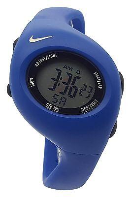 New Nike Kids Triax Junior WR0017 Special Ultramarine Sports Digital 38mm  Watch