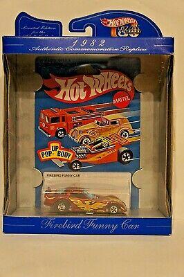 Hot Wheels 30th Anniversary Commemorative Replica FIREBIRD FUNNY CAR, NIP