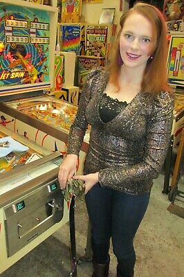 Vintage Arcade Pinball 2 original 25 cent coin mechs put your machine coin op NR