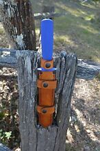 F.DICK 8'' double sided pig stick & custom made sheath combo Wolffdene Logan Area Preview