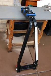 A-Frame 3 Bike Tow Ball Car Rack Straight Base Carrier