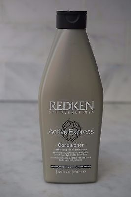 - 8.5 oz. Redken Active Express Fast Acting Conditioner. All Hair Types. 250ml.