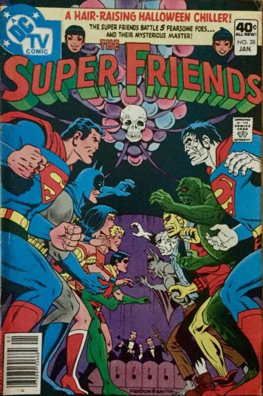 DC TV Comic Super Friends No. 28 Jan. 1980