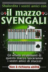 Mazzo-di-Carte-Truccato-SVENGALI-per-Giochi-di-Prestigio