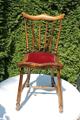 Antique child's chair/ Craftsman's sample chair: excellent condition