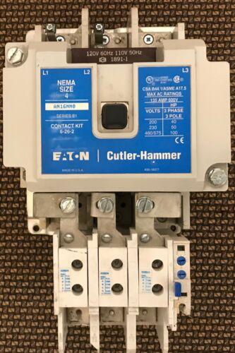 Cutler Hammer AN16NN0 NEMA 4 120V Coil