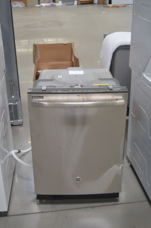 "GE 24"" Top Control Tall Tub Built-In Dishwasher Stainless Steel GDT545PSJSS"