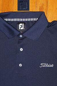 Titleist footjoy shirt ebay for Footjoy shirts with titleist logo