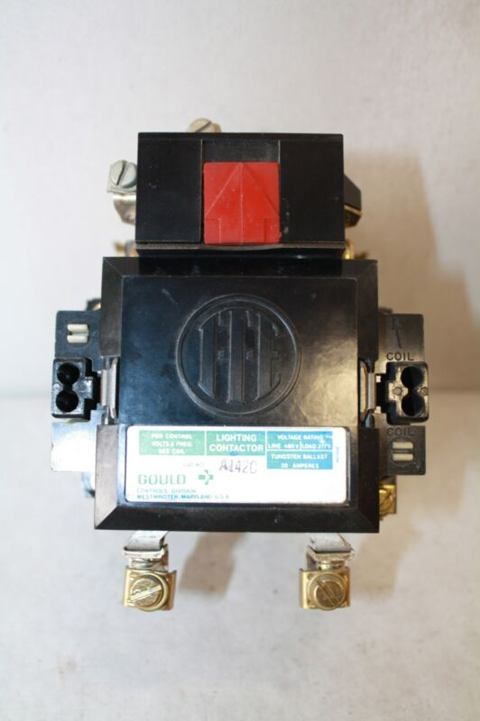 GOULD A142C LIGHTING CONTACTOR
