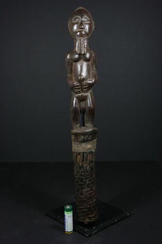 African Blolo Bian Spouse Prestige Chief Scepter - BAULE West-Africa,TRIBAL ART