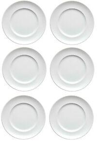 6x Thomas Sunny Day Weiss Frühstücksteller Teller 22cm NEU 1.Wahl
