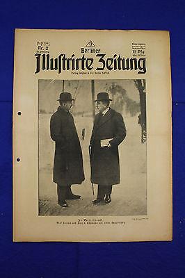 BERLINER ILLUSTRIRTE ZEITUNG (1918 Nr. 2) Cambrai/1. Weltkrieg/WW 1