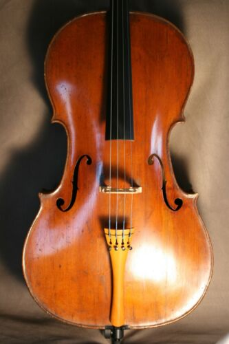 RARE OLD ANTIQUE 18TH FRENCH CENTURY FRENCH CELLO BY NICOLAS CHAPPUY CIRCA 1770.