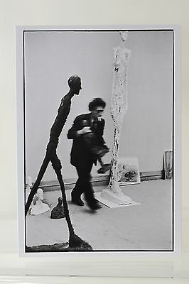 ALBERTO GIACOMETTI,1960 by HENRI CARTIER-BRESSON Kunst-Postkarte