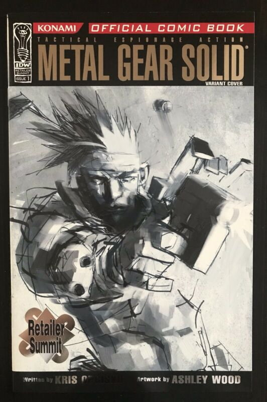 Metal Gear Solid #1 Diamond Retailer Summit Incentive IDW Variant 2004 Comic