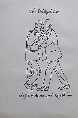 Thomas Derrick DER VERLORENE SOHN 1931 Buchillustration 2 Drucke prints #8 online kaufen
