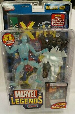 MARVEL LEGENDS 2004 SERIES VIII ICEMAN ACTION FIGURE