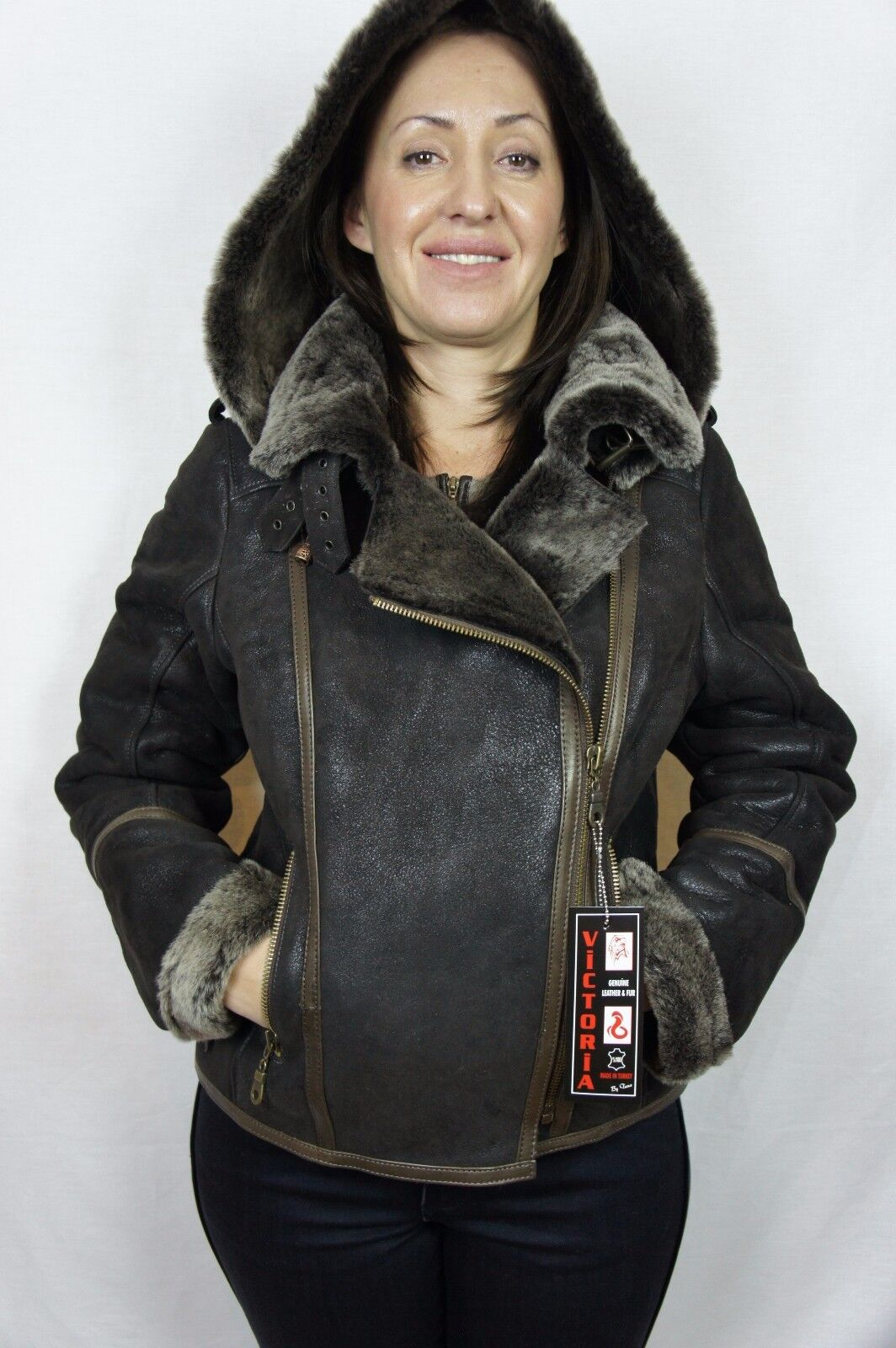 Смотреть фото красивых курток дубленок пилот