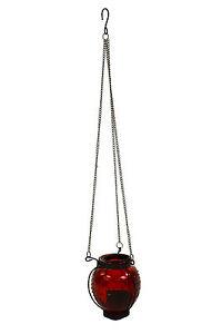 Hanging Moroccan Glass Tea Light Candle Holder Lantern Garden Home Ornament