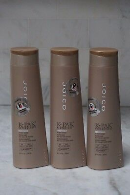 3 PACK. 10.1 oz. Joico K-Pak Reconstruct Conditioner. To Repair Damage. 300ml.