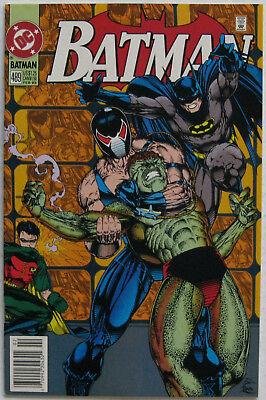 Batman Costume History (Batman #489 (Feb 1993, DC), NM+, Bane cvr/story, 1st app. Azrael in)