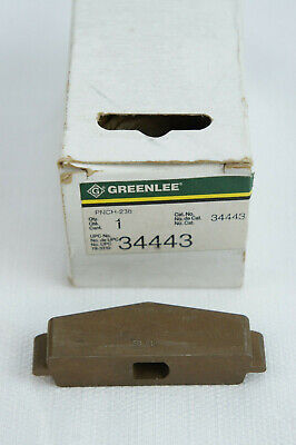 Greenlee Pnch-238 34443 50-pin Punch Connector New In Box