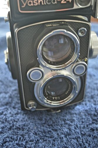 Yashica 24 TLR Camera with Case - Near Mint Condition