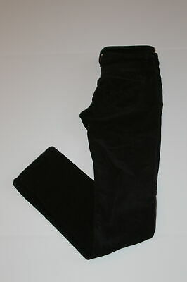 12345678 Black 5 Pocket Straight Leg Women's Corduroy Pant Sz 1