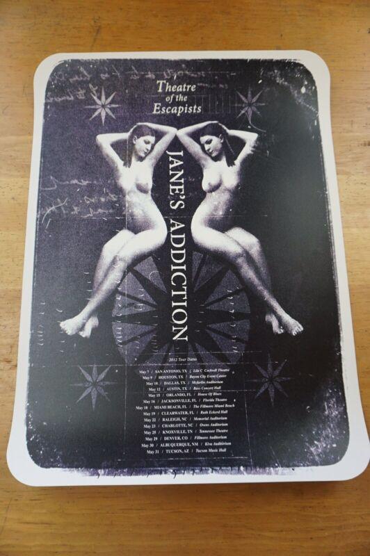 Janes Addiction Tour poster   Perry Navarro Nirvana Soundgarden Alice