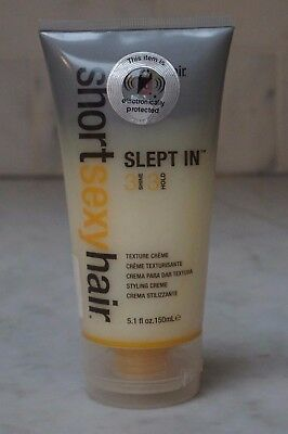 5.1 oz. Short Sexy Hair  Slept In Texture Creme. 150ml. NEW. FREE SHIPPING..