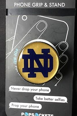 Notre Dame Classic Pop Socket Custom DECAL ONLY