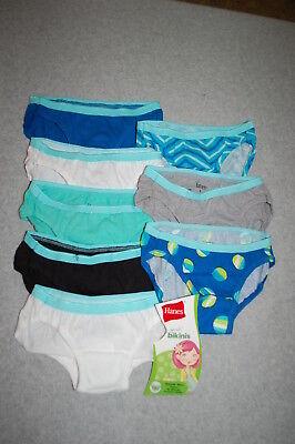 86415529c Underwear Hanes Ultimate Girls 5-Pack Cotton Stretch Bikini Panties GUCSBK