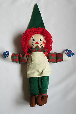 RAGGEDY ANN Plush Doll Elf Applause Apron Christmas Theme Hat Slippers - Raggedy Ann Hat