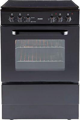 Bush BESC60B Free Standing 60cm Single Electric Cooker - Black -From Argos ebay