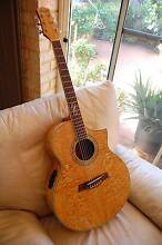 IBANEZ EW20ASE NT ACOUSTIC ELECTRIC QUILTED ASH UNMARKED AS NEW Spearwood Cockburn Area Preview