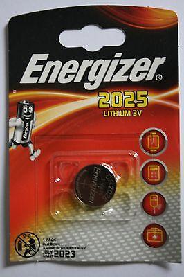 10 x Energizer Lithium CR2025 DL2025 , 10 x 1er Blister, bis 7/2023 ()