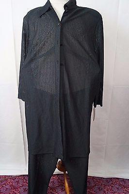 Damen Sommer Kostüm Bluse+Hose schwarz XXL Mode Gr. 46  Neu mit - Mode Kostüm Schwarz
