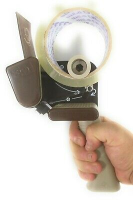 3m Scotch H-150 Low Noise 2 Hand Tape Gun Dispenser Box Sealing Packing Quiet