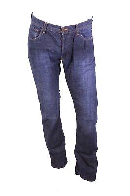 GJ13-32 H&M Sliq Herren Jeans W33 L32 low waist slim leg straight Button Fly gebraucht kaufen  Ettlingen