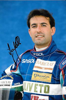 Ivan Capelli Signed  F1 Sasol Jordan Team Portrait 1993