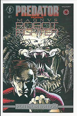 PREDATOR vs MAGNVS ROBOT FIGHTER, # 1 (PLATINUM EDITION, NOV 1992) NM