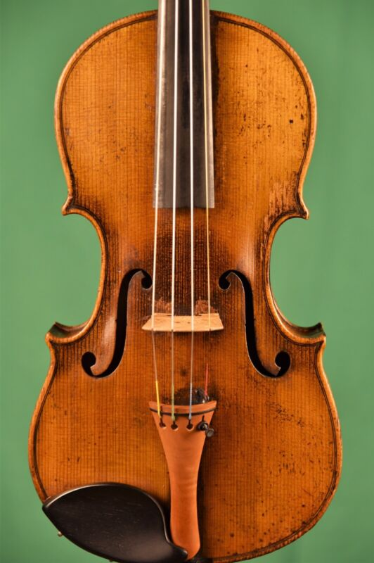 Labeled  Alexander Gagliano, Old Antique Violin, Nice and Big Sound!!!