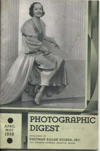 Photographic Digest Eastman Kodak April May 1938