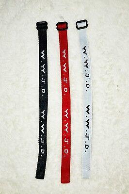 Woven Jesus Religious WWJD Bracelet Fundraiser Fashion Wristband -(3-Pack)