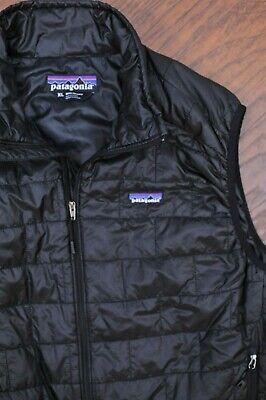 Patagonia Nano Puff Vest Black Men's XL