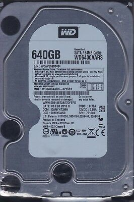 """WD6400AARS-32Y5B1 dcm: DANYHT2MH s/n: WCAV.. WD 3.5""""  640GB SATA  D5-03 for sale  Shipping to Nigeria"""