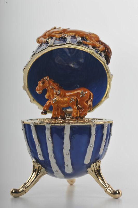 Horse Trinket Box Ebay