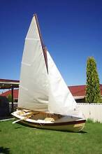 Wooden Sail Boat - PHOENIX III - (4.5m) Edgeworth Lake Macquarie Area Preview